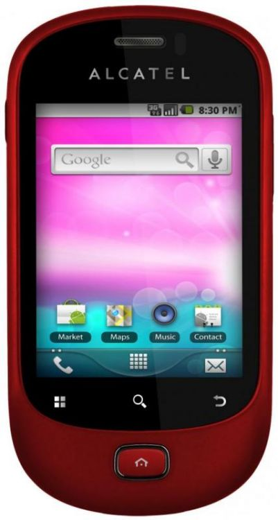 Alcatel One Touch OT908  Red