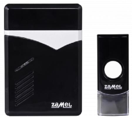 Звонок Zamel ST-251 TECHNO беспроводной радиус действия 60м (питание от батареек)