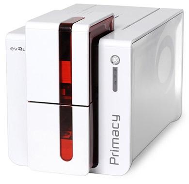 Принтер для печати пластиковых карт Evolis Primacy Duplex PM1W0000RD 300 dpi, двусторонний, USB & WiFi