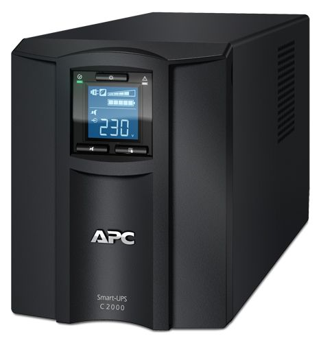 Источник бесперебойного питания APC SMC2000I Smart-UPS C 2000VA/1300W, 230V, Line-Interactive, LCD