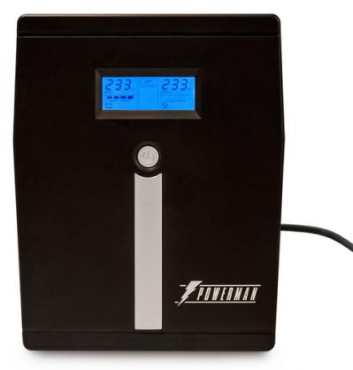 Источник бесперебойного питания Powerman Smart Sine 1500 UPS POWERMAN Smart Sine 1500, LCD, line-interactive, 1500VA, 1050W, 4 eurosockets with backup
