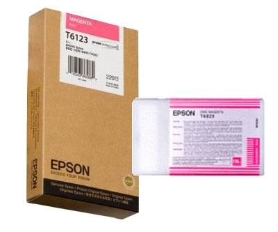Картридж Epson C13T612300 для принтера Stylus Pro 7450/9450 пурпурный