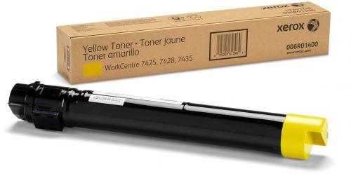 Тонер-туба Xerox 006R01518 жёлтый (15000 страниц) для WC 7525/7530/7535/7545/7556/7830/7835/7845/7855/7970
