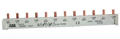 Шина ABB 2CDL220001R1012 комплектная 2ф 12 модулей 63А PS2/12 (PS2/12)