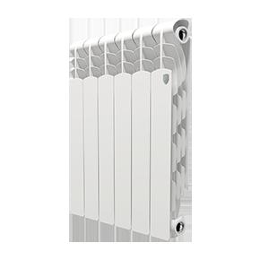 Радиатор отопления алюминиевый Royal Thermo Revolution 500 - 6 секций радиатор секционный алюминиевый royal thermo revolution 350 8 секций