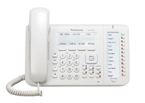 Проводной IP-телефон Panasonic KX-NT556RU с диспл. 6 строк, 36 клавиш, 4 экранные кнопки, кнопка навигации, 2 Ethernet порта, спикерфон, гарнитура, ав