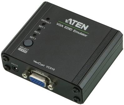Адаптер Aten VC010-AT эмулятор EDID, DVI, Female, без БП, (макс.разр.1920*1200 60Hz)