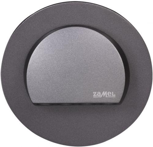 Светильник Zamel 09-111-32 RUBI Графит/Тепл.бел. на стену, 14V DC
