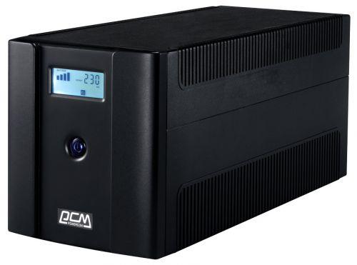 Источник бесперебойного питания Powercom RPT-1500AP LCD 1500ВА/900Вт
