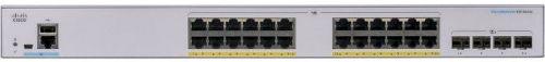 Коммутатор Cisco SB CBS350-24FP-4X-EU CBS350 Managed 24-port GE, Full PoE, 4x10G SFP+