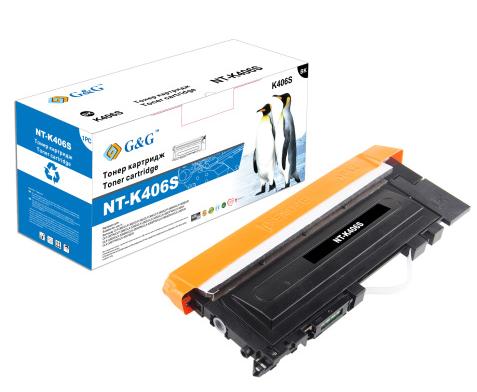 Картридж G&G NT-K406S NT-K406S G&G Тонер-картридж черный для Samsung для CLP-360/365 CLX-3300/3305 SL-C460 (1500стр)