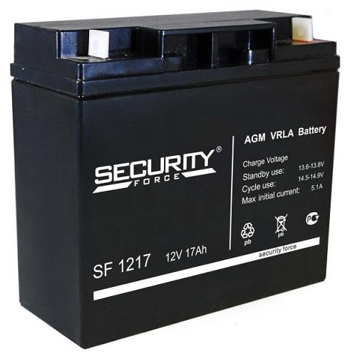 Security Force 12 В, 17 Ач