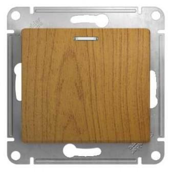 Переключатель Schneider Electric GSL000563 1-клавишный с подсветкой, сх.6а