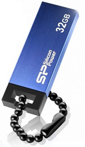 Фото - Накопитель USB 2.0 32GB Silicon Power Touch 835 SP032GBUF2835V1B синий накопитель usb 2 0 32gb silicon power touch 810 sp032gbuf2810v1b синий