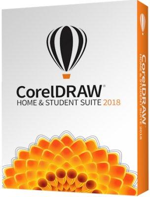 Corel Право на использование (электронный ключ) Corel CorelDRAW Home & Student Suite 2018 (ESDCDHS2018ROEU)