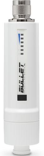 Точка доступа Ubiquiti Bullet AC Wi-Fi 802.11a/b/g/n/ac, 2.4/5 ГГц, PoE-адаптер 1 Гбит 24В 0.5А в комплект не входит