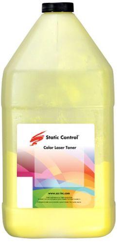 Тонер Static Control KYTK5140-1KG-Y желтый флакон 1000гр. для принтера Kyocera EcoSys-M6030/M6530/P6130/M6035/M6535/P6035