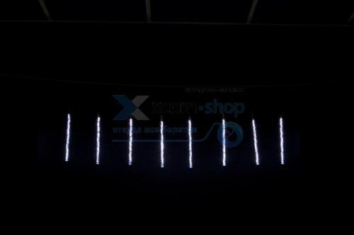 Гирлянда NEON-NIGHT 256-313-6 тающие сосульки светодиодная, 8шт х 50см, шаг 40см, 24 В (с трансформатором) белые светодиоды