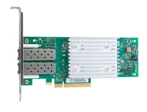 Контроллер Qlogic QLE2742-SR-CK 32Gb, Dual Port FC HBA, PCIe Gen3 x8, SR LC multi-mode optic контроллер qlogic qle2672 ck 16gb dual port fc hba x8 pcie lc multi mode optic активное охлаждение