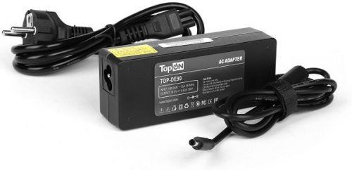 Адаптер питания для ноутбука TopOn TOP-DE90 Dell 19V 4.62A (4.5x3.0mm) 90W. PN: MK947, ADP-90LD
