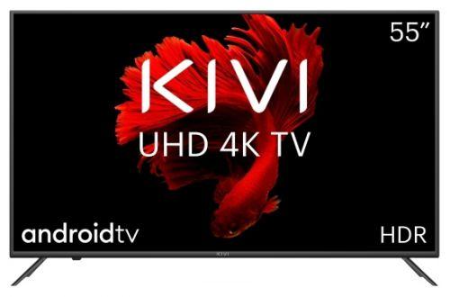 Телевизор KIVI 55U710KB черный/4K UHD Ready/60Hz/DVB-T2/DVB-C/3*USB/WiFi/Smart TV
