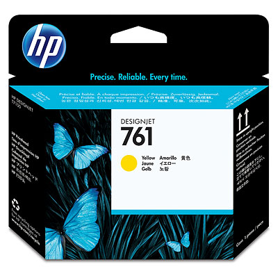 Картридж HP CH645A №761 печатающая головка для HP Designjet T7100 Printer series жёлтый