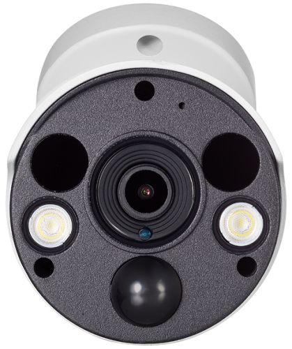 Видеокамера IP REDLINE RL-IP15P-S.alert уличная цилиндрическая 5 Мп с ИК-датчиком сигнализации и функцией отпугивания