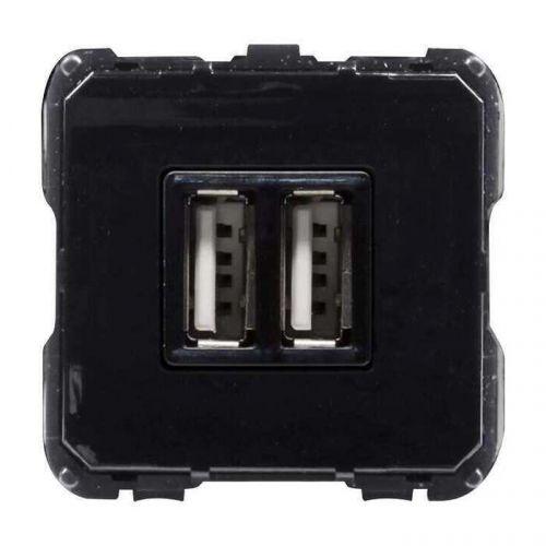 Розетка ABB 2CLA818500A1001 (механизм) USB зарядного устройства