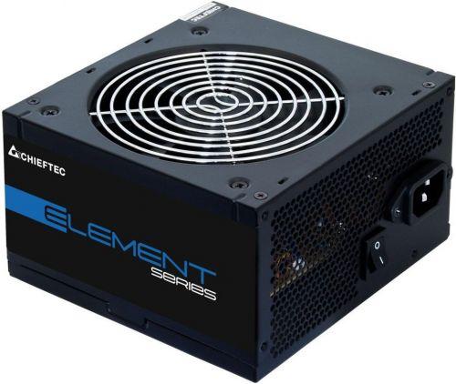 Блок питания ATX Chieftec ELP-500S-Bulk 500W, Active PFC, 120mm fan, OEM блок питания atx 600 вт chieftec elp 600s bulk