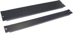 Панель TWT TWT-CB-FP-3U фальш 19 3U, черная