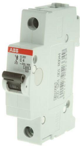 Автоматический выключатель ABB 2CDS251001R0044 S201 1P 4А (С) 6kA