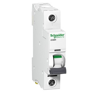 Автоматический выключатель Schneider Electric A9F78110 1P 10А B 6кА (серия Acti 9 iC60N) автоматический выключатель schneider electric acti 9 ic60n 1p c 6ка 3 а