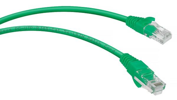 Cabeus PC-UTP-RJ45-Cat.5e-1.5m-GN-LSZH
