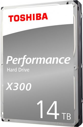 Жесткий диск 14TB SATA 6Gb/s Toshiba HDWR21EEZSTA 3.5 X300 7200rpm 256MB Rtl жесткий диск toshiba sata iii 6tb hdwr160uzsva x300 7200rpm 256mb 3 5 bulk hdwr160uzsva