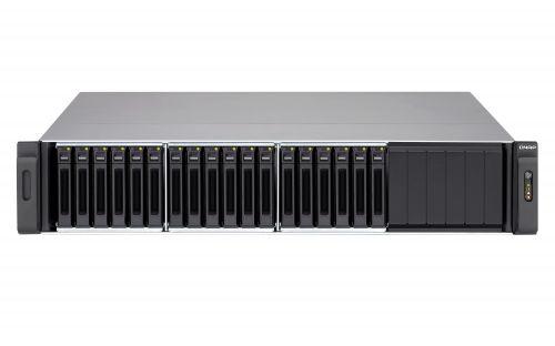 Сетевой RAID-накопитель QNAP SS-EC1879U-SAS-RP с восемнадцатью отсеками для жестких дисков 2,5