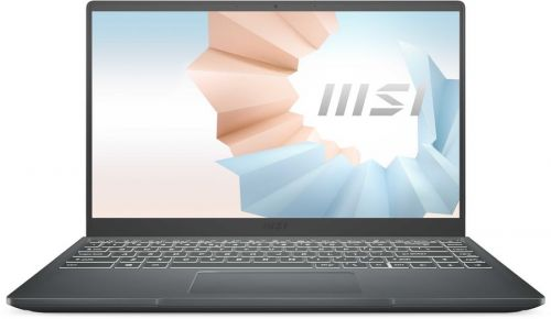 Фото - Ноутбук MSI Modern 14 B4MW-252RU 9S7-14DK14-252 Ryzen 7 4700U/8GB/256GB SSD/noDVD/Radeon Graphics/14/IPS/Cam/BT/WiFi/Win10Home/Carbon Grey ноутбук msi stealth 15m a11sdk 032ru 9s7 156211 032 grey