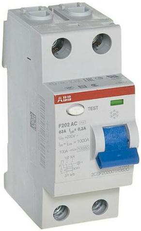 ABB F202 AC-63/0,3