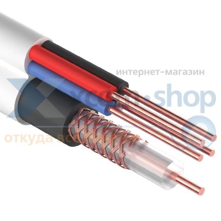 Rexant ККСВ-В + 4х0.5мм., 305м., белый