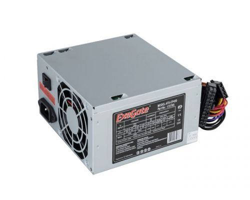 Блок питания ATX Exegate CP450 EX172785RUS 450W, 8cm fan, 24p+4p, 3*SATA, 2*IDE, FDD блок питания atx exegate uns400 es261567rus 400w 12cm fan 24p 4p 3 sata 2 ide fdd