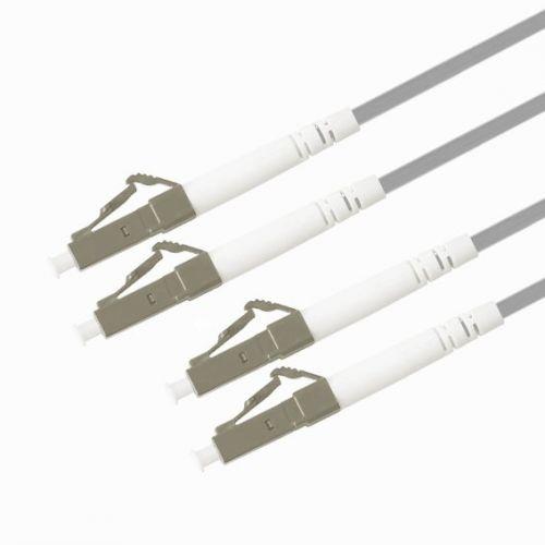 Кабель патч-корд волоконно-оптический TELCORD ШОС-2x3.0-DLC/P-DLC/P-MM62, 5-150м-LSZH-GY  - купить со скидкой