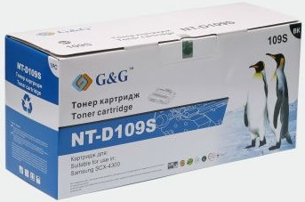 Тонер-картридж G&G NT-D109S для Samsung SCX-4300