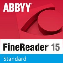 Подписка (электронно) ABBYY FineReader PDF 15 Standard на 1 год (Для дома)