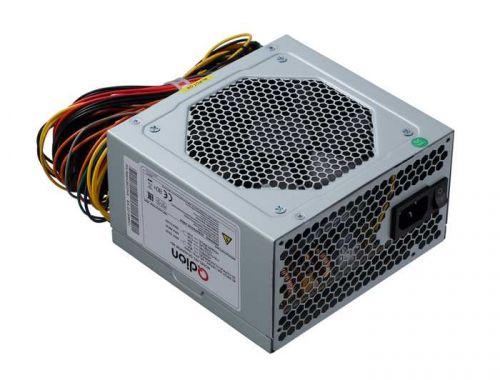 Блок питания ATX Qdion QD-600PNR 80+ 600W (ATX 2.3, 80+, 120mm fan)