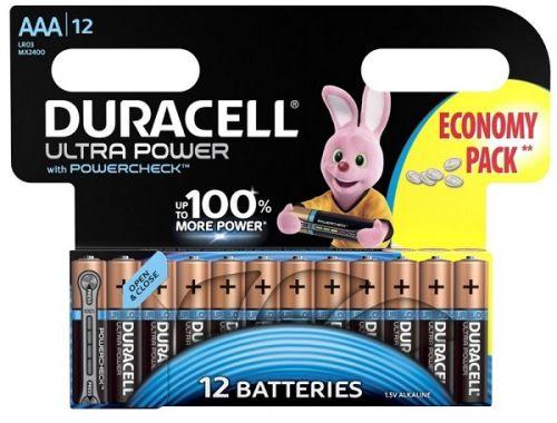 Батарейка Duracell LR03 Ultra Power 12шт, size ААА, MX2400