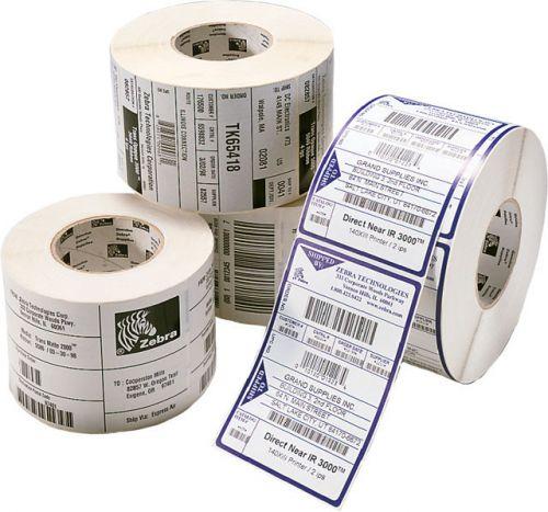 Этикетки Zebra 3004645 (матовая бумага самоклейка) Z-Perform 1000T 100x100 мм (1670 эт.)