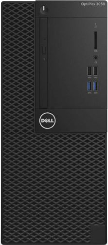 Dell Компьютер Dell OptiPlex 3050 MT i5 6500 (3.2)/4Gb/500Gb 7.2k/HDG530/DVDRW/Windows 10 Professional 64/Eth/клавиатура/мышь/черный (3050-6324)