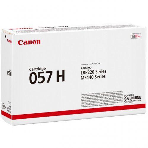 Фото - Картридж Canon 057H BK 3010C002 увеличенной емкости 10000 стр для MF449x/ MF446x/ MF445dw/ MF443dw/ LBP228x/ LBP226dw/ LBP223dw картридж canon 057hbk 3010c002