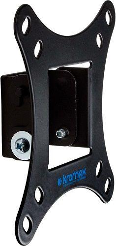 Фото - Кронштейн настенный Kromax VEGA-6 Kromax_24044 15-32, макс. 20кг, наклон, VESA 100х100, черный кронштейн для телевизора kromax flat 2 черный 32 90 макс 65кг настенный наклон