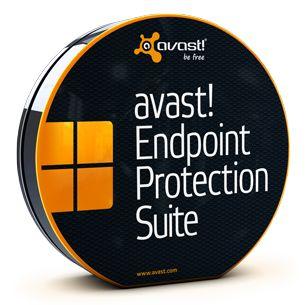 AVAST Software - Право на использование (электронный ключ) AVAST Software avast! Endpoint Protection Suite, 1 year (10-19 users) (EUN-07-010-12)