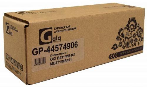 Картридж GalaPrint GP_44574906 для принтеров Oki B431/B411/B411d/B411dn/B431d/B431dn 10000 копий